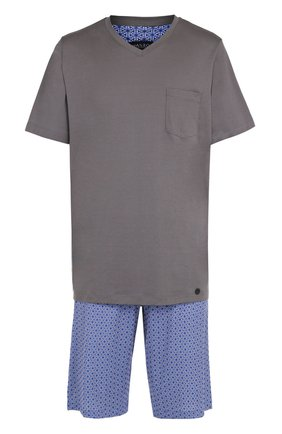 Хлопковая пижама с шортами | Фото №1