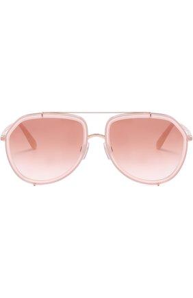 Солнцезащитные очки Dolce & Gabbana светло-розовые | Фото №3