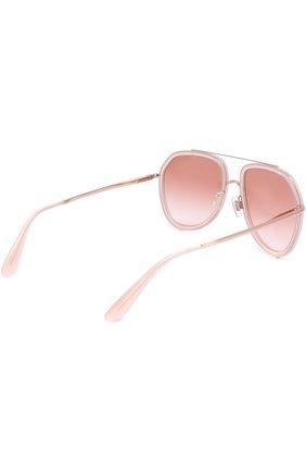 Солнцезащитные очки Dolce & Gabbana светло-розовые | Фото №4