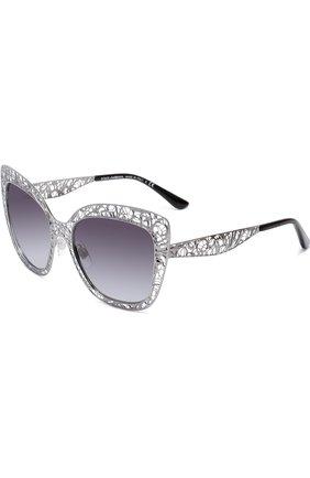 Солнцезащитные очки Dolce & Gabbana серые | Фото №1