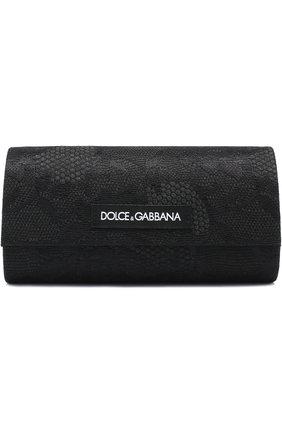 Солнцезащитные очки Dolce & Gabbana серые | Фото №5