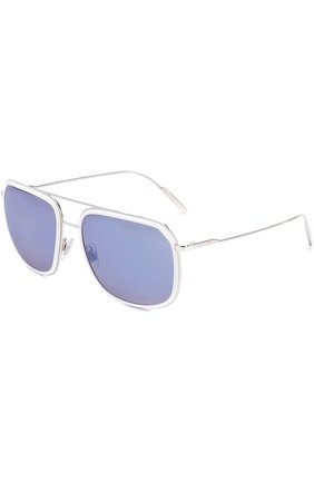 Солнцезащитные очки Dolce & Gabbana белые | Фото №1