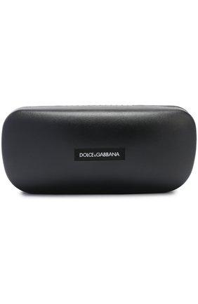 Солнцезащитные очки Dolce & Gabbana серые   Фото №4