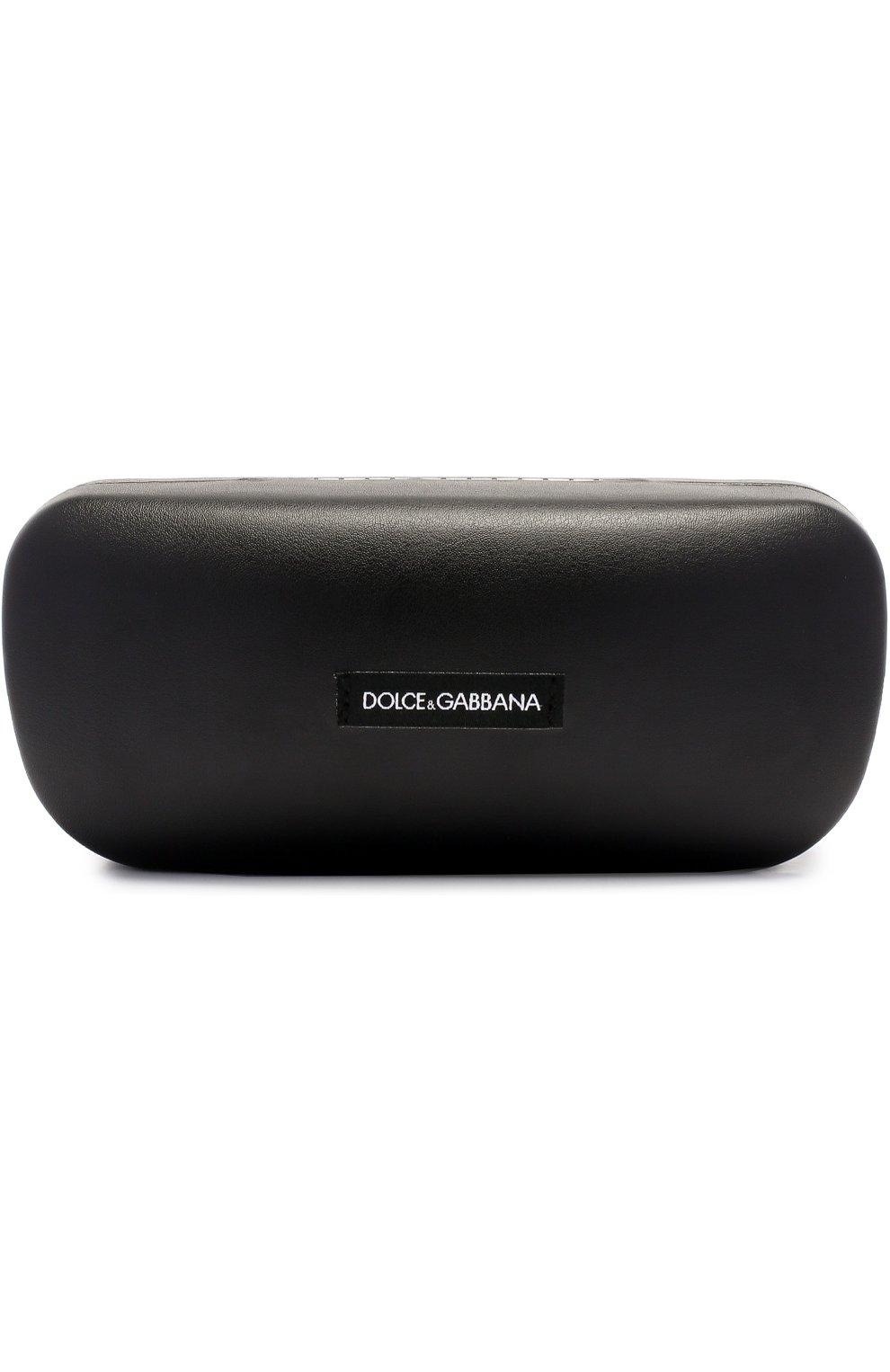 Солнцезащитные очки Dolce & Gabbana коричневые | Фото №4