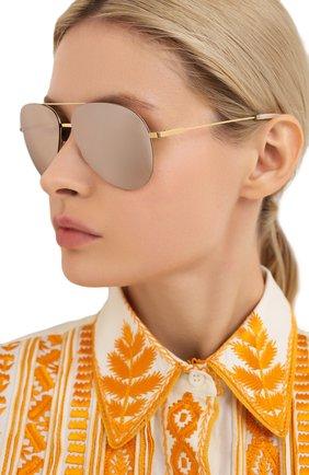 Женские солнцезащитные очки VICTORIA BECKHAM бежевого цвета, арт. S119 C06   Фото 2