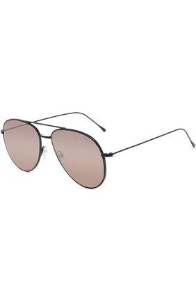 Женские солнцезащитные очки ILLESTEVA коричневого цвета, арт. LINATE BLACK/M0CHA   Фото 1 (Тип очков: С/з; Ограничения доставки: fragile)