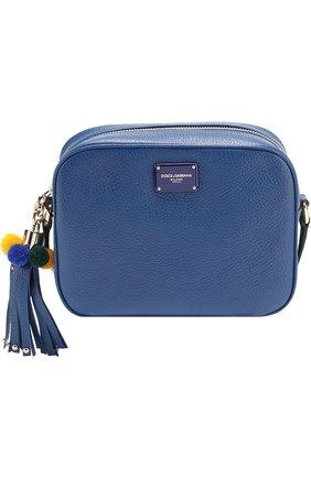 Сумка Glam Dolce & Gabbana синяя цвета | Фото №1