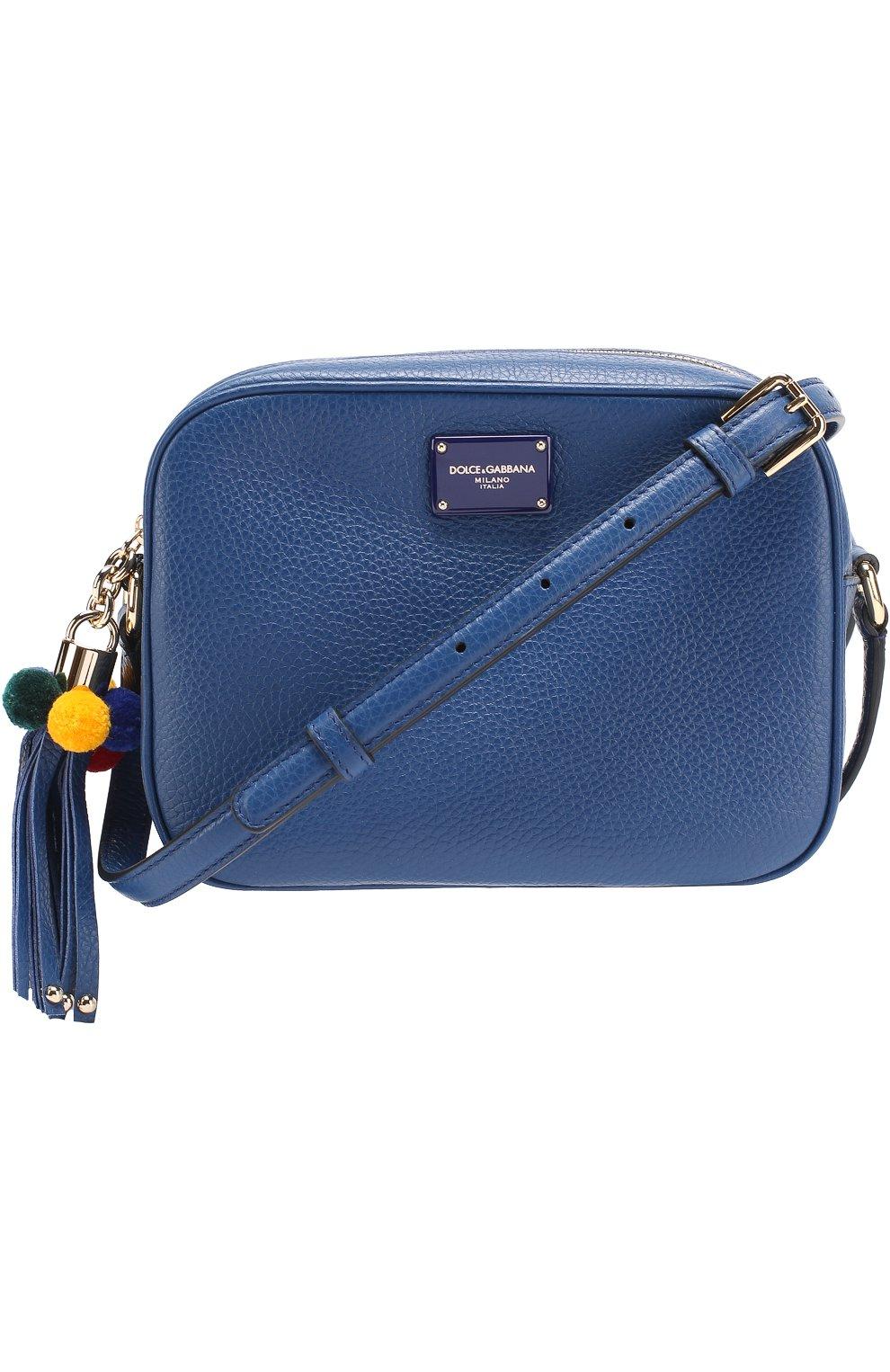 Сумка Glam Dolce & Gabbana синяя цвета | Фото №3
