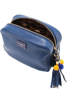 Сумка Glam Dolce & Gabbana синяя цвета | Фото №4