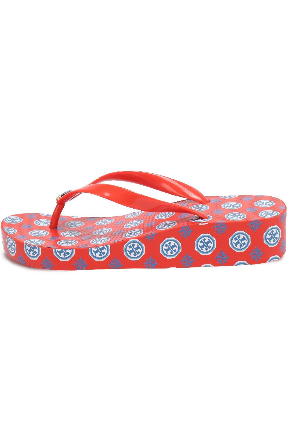 Резиновые шлепанцы с логотипом бренда | Фото №2