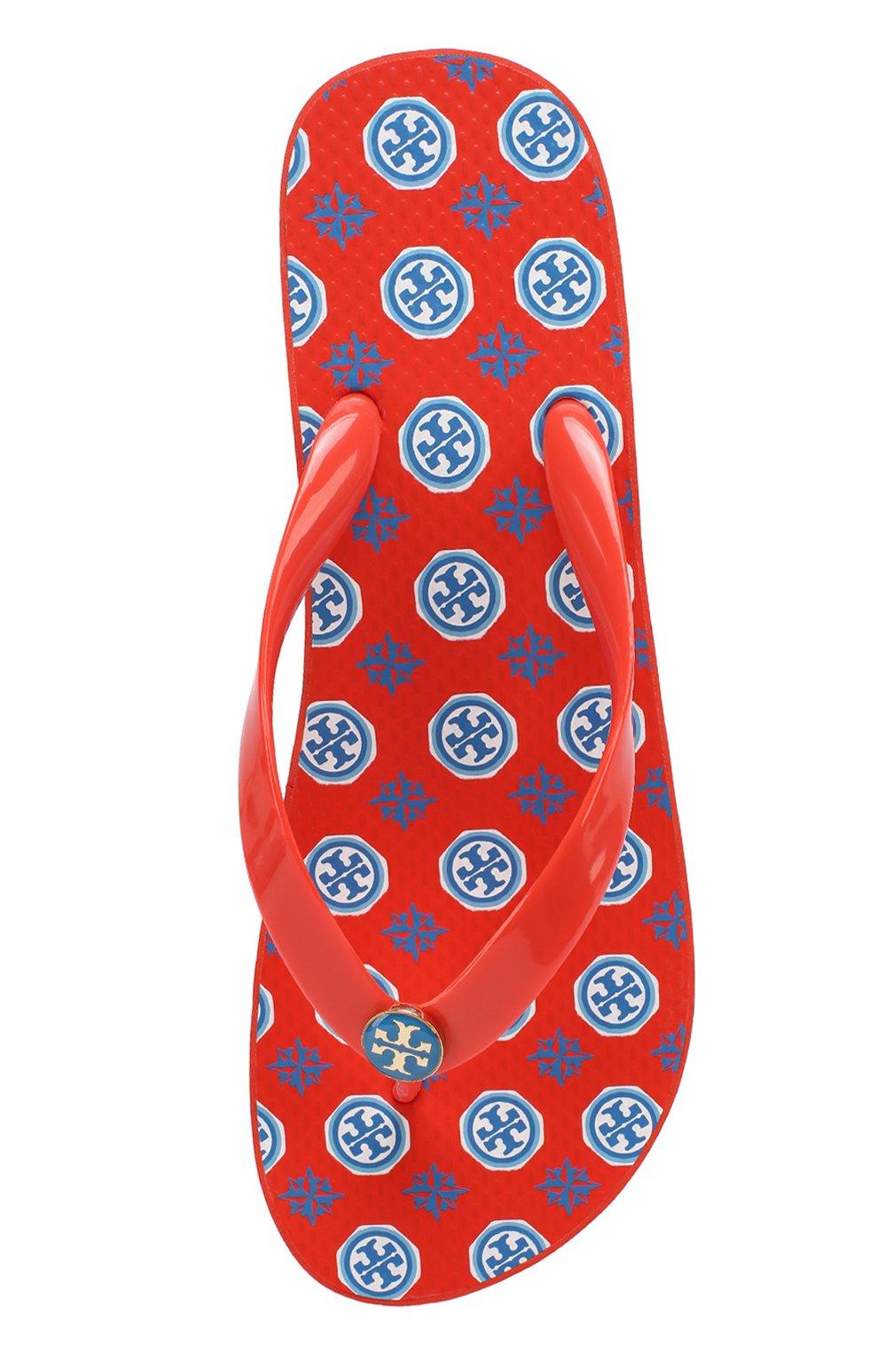 Резиновые шлепанцы с логотипом бренда | Фото №4