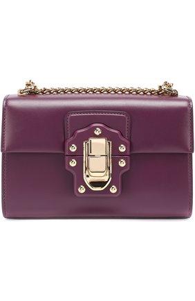 Сумка Lucia Dolce & Gabbana фиолетовая цвета | Фото №1