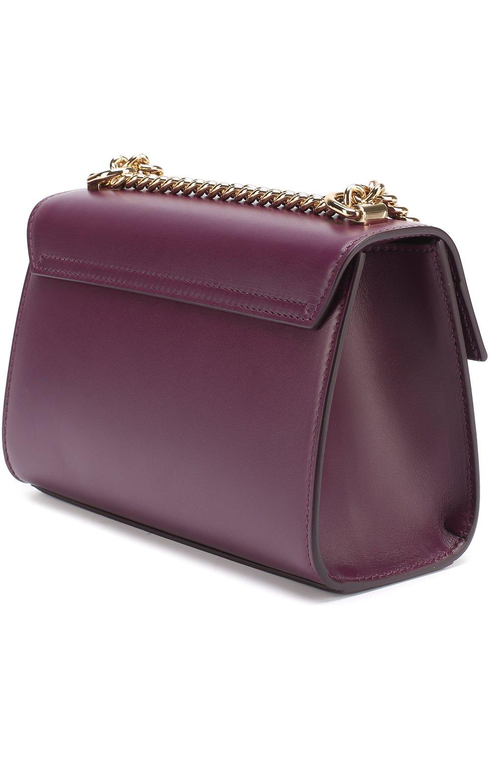 Сумка Lucia Dolce & Gabbana фиолетовая цвета | Фото №2