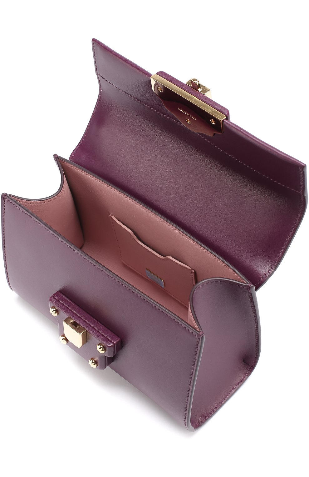 Сумка Lucia Dolce & Gabbana фиолетовая цвета | Фото №3