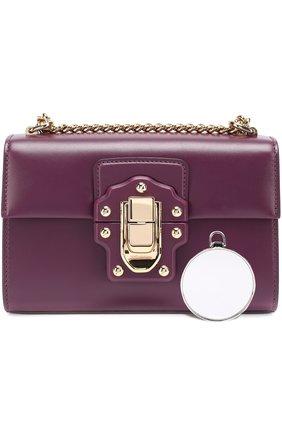 Сумка Lucia Dolce & Gabbana фиолетовая цвета | Фото №4