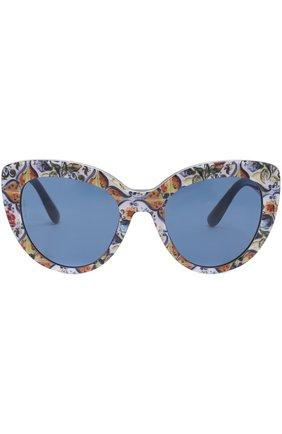 Солнцезащитные очки Dolce & Gabbana разноцветные | Фото №3
