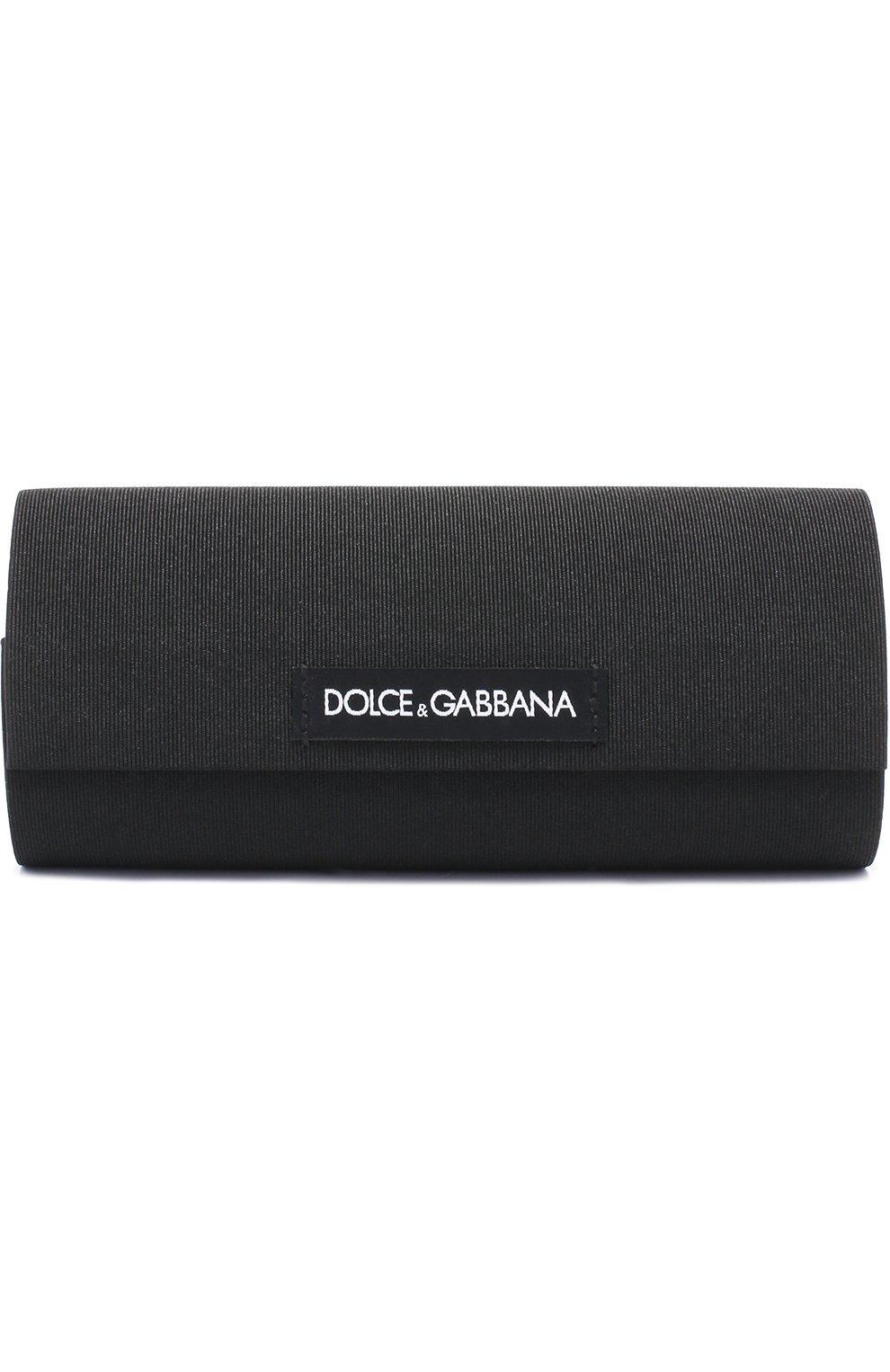Солнцезащитные очки Dolce & Gabbana черные | Фото №5