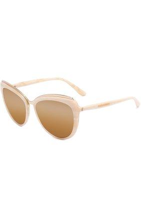 Солнцезащитные очки Dolce & Gabbana бежевые | Фото №1