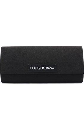 Солнцезащитные очки Dolce & Gabbana бордовые | Фото №5