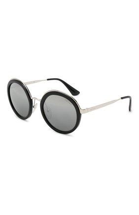Женские солнцезащитные очки PRADA черного цвета, арт. 50TS-1AB6N2   Фото 1