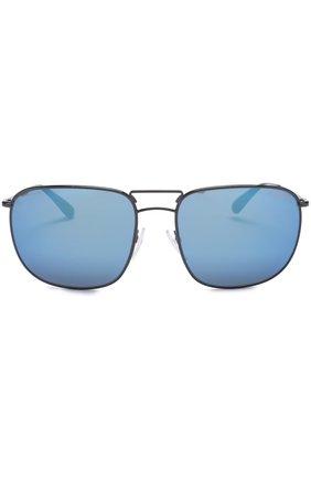 Женские солнцезащитные очки PRADA черного цвета, арт. 52TS-7AX9P1 | Фото 2