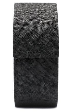 Женские солнцезащитные очки PRADA черного цвета, арт. 52TS-7AX9P1 | Фото 4