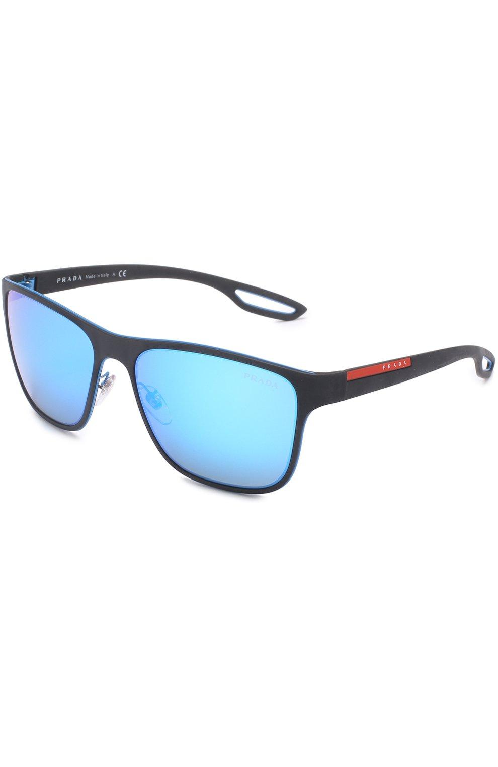 3d5740f4513e Фото Мужские синие солнцезащитные очки prada linea rossa PRADA Италия  00013821 56QS-VHK5M2