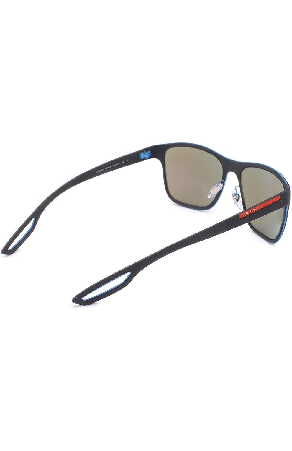717dc8b1e980 Мужские синие солнцезащитные очки prada linea rossa PRADA — купить ...