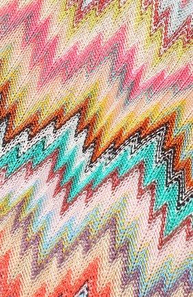 Вязаная повязка для волос Missoni разноцветного цвета   Фото №2