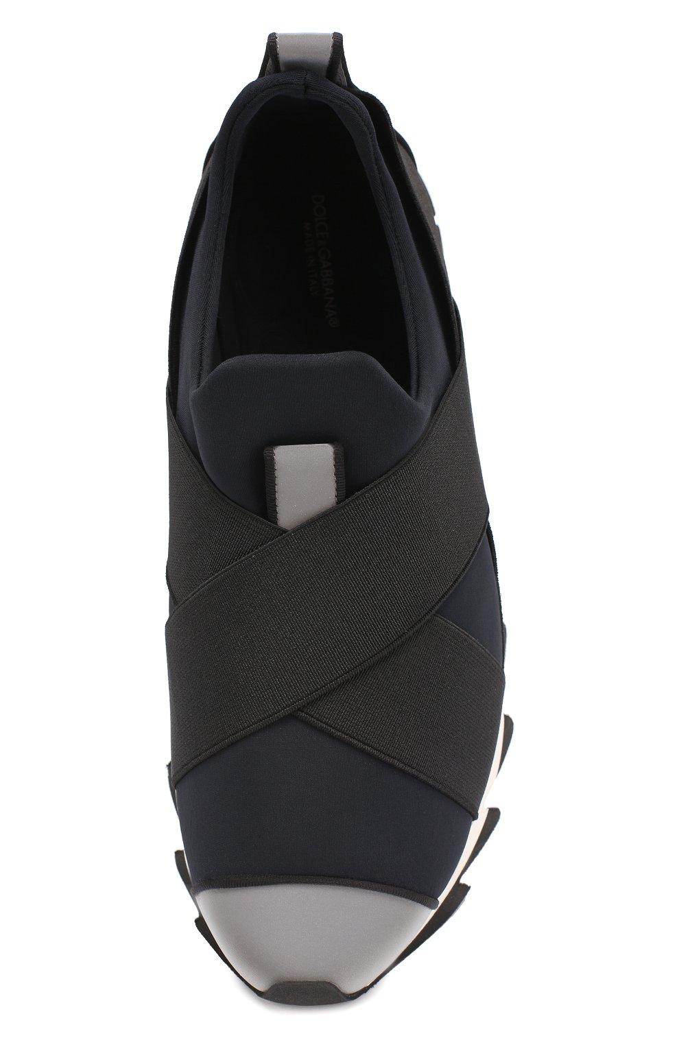 Комбинированные кроссовки Ibiza на рельефной подошве | Фото №4