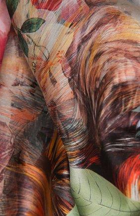 Женский шелковый платок in vogue RADICAL CHIC серого цвета, арт. 202647.07.09   Фото 2