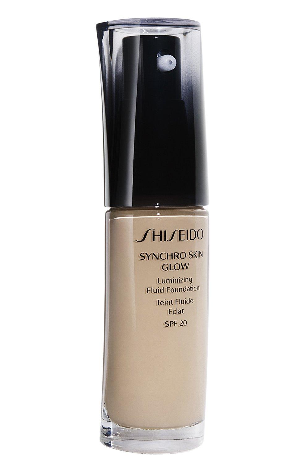 Женское тональное средство-флюид synchro skin, neutral 4 SHISEIDO бесцветного цвета, арт. 13542SH | Фото 1