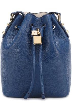 Сумка Dolce Secchiello Dolce & Gabbana синяя цвета | Фото №1