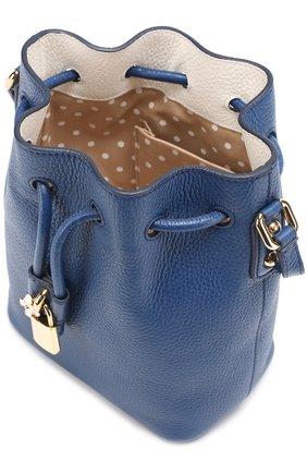 Сумка Dolce Secchiello Dolce & Gabbana синяя цвета | Фото №3