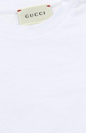 Футболка джерси с контрастными манжетами | Фото №2