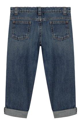 Детские джинсы GUCCI синего цвета, арт. 455454/XR384 | Фото 2