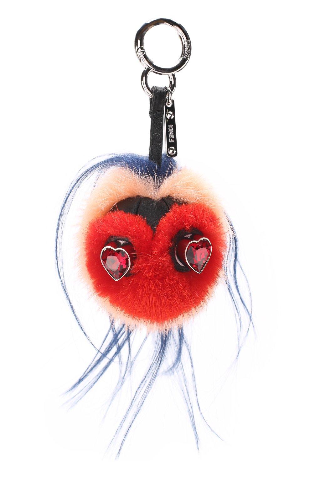 Брелок из меха Bag Bug Valentine's Day | Фото №1