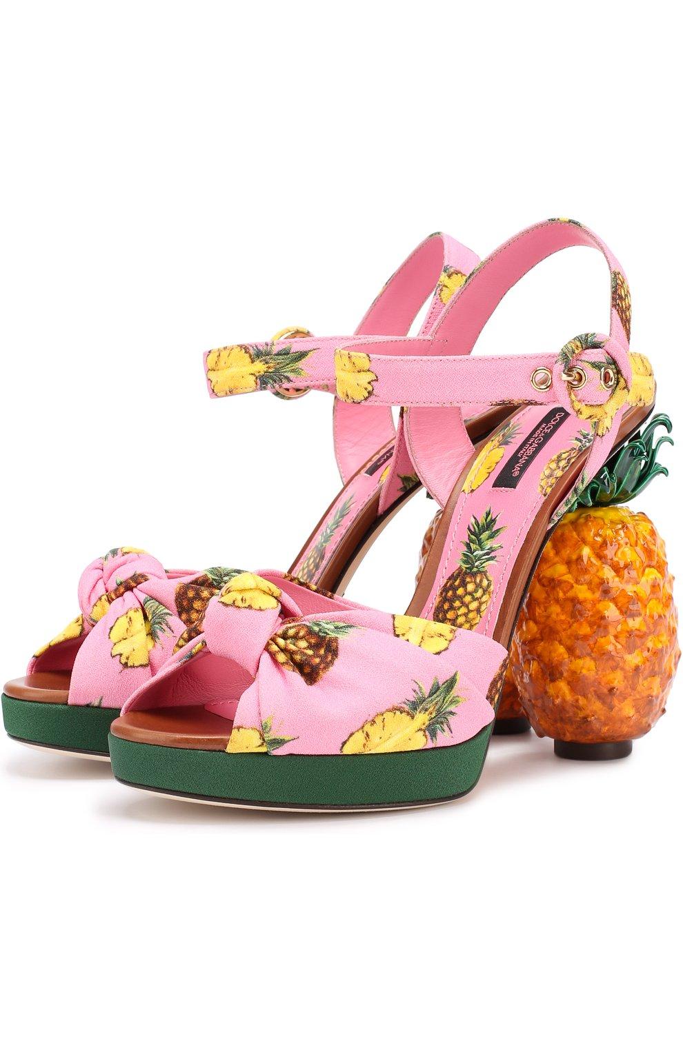Босоножки Keira на декорированном каблуке | Фото №1