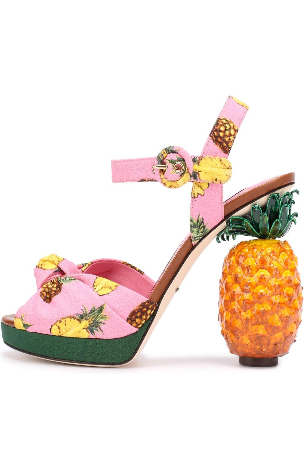 Босоножки Keira на декорированном каблуке | Фото №2