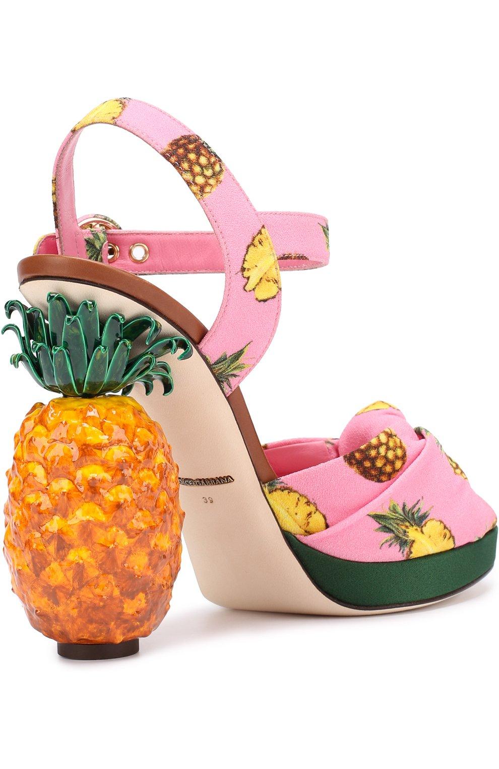 Босоножки Keira на декорированном каблуке | Фото №3