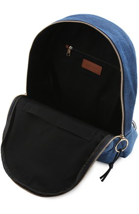 Рюкзак из денима с аппликацией   Фото №4