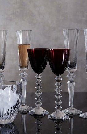 Мужского набор из 2-х фужеров для шампанского mille nuits BACCARAT прозрачного цвета, арт. 2 810 597   Фото 2