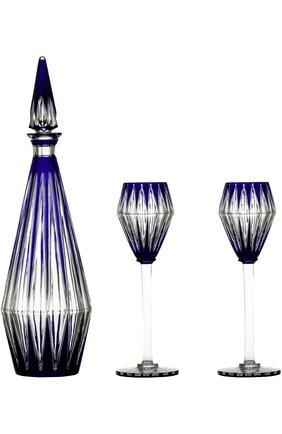 Набор из графина для вина и 2-х фужеров Memoire Baccarat #color# | Фото №1