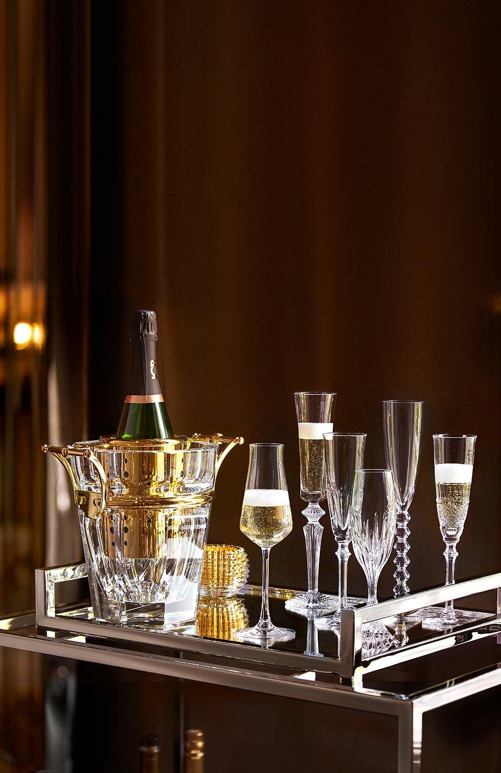 Набор из 6-ти  фужеров для шампанского Bubble Box Baccarat  | Фото №2
