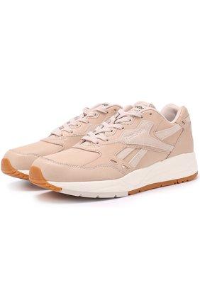 Кожаные кроссовки Bolton Golden Neutrals на шнуровке | Фото №1