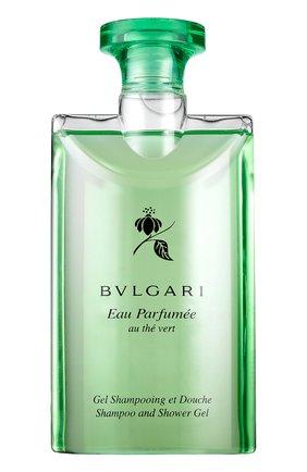 Парфюмированный шампунь и гель для душа au the vert BVLGARI | Фото №1