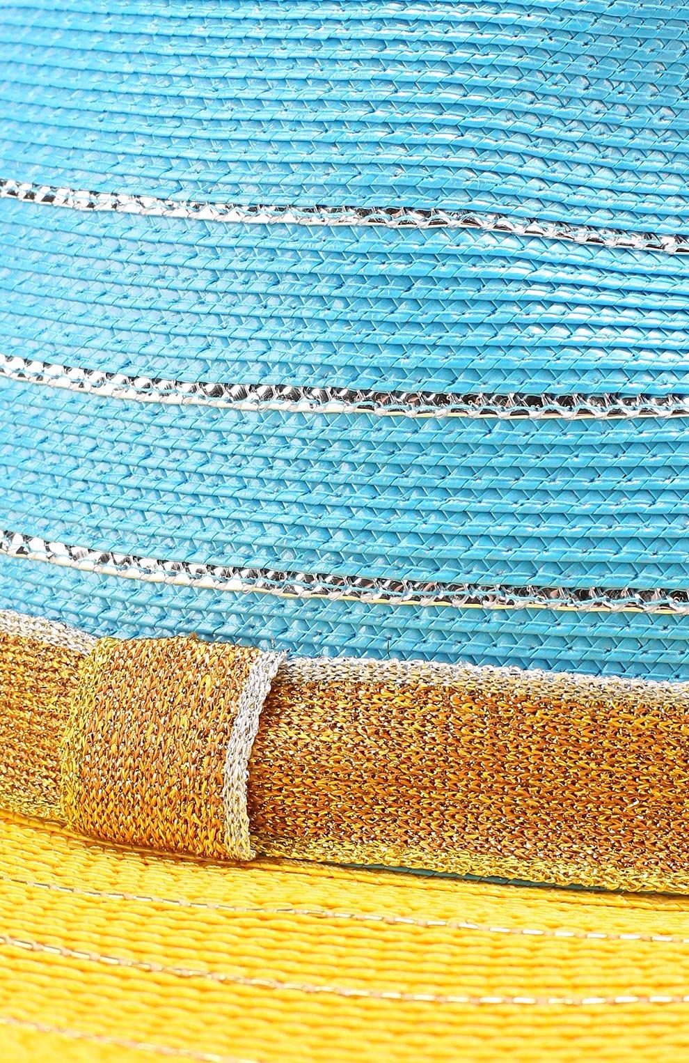 Пляжная шляпа Missoni желтого цвета   Фото №3
