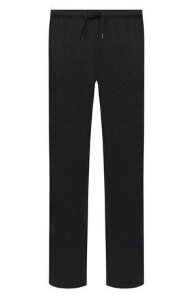 Мужские домашние брюки DEREK ROSE темно-серого цвета, арт. 3558-MARL001 | Фото 1