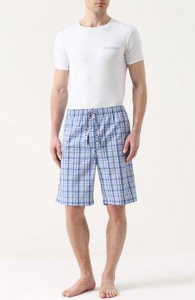 Комплект из двух хлопковых футболок с круглым вырезом | Фото №2