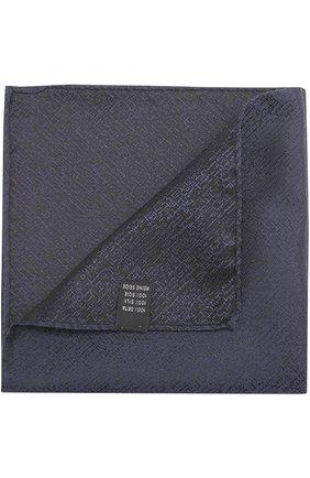 Шелковый платок с узором   Фото №1